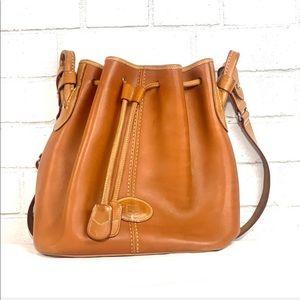 RARE Vintage Dooney & Bourke Bucket Shoulder Bag